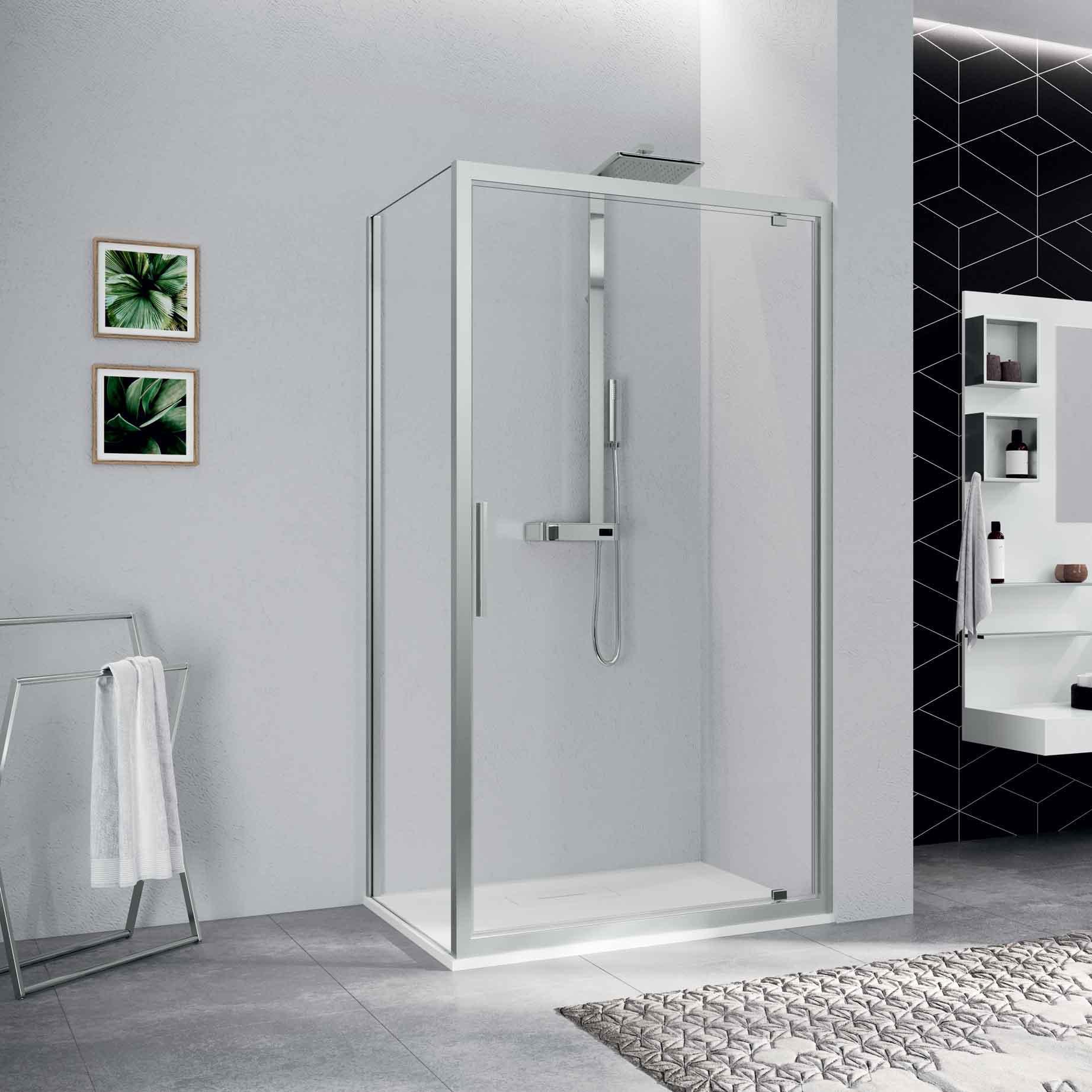 parois de douche novellini. Black Bedroom Furniture Sets. Home Design Ideas